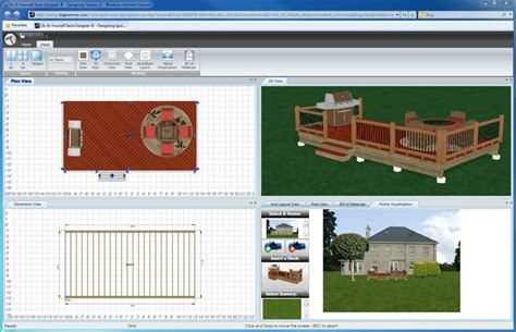 Deck And Patio Design Software Bighammer Deck Designer Free Deck Design Software Pertaining To Deck And Patio Design