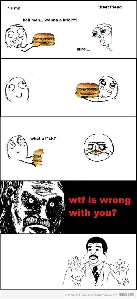 Best 9gag Memes - 9gag badass best friend bite funny image 298500 on