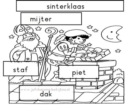werkbladen sinterklaas groep 3 sinterklaas stempelen groep 1 2 thema sinterklaas