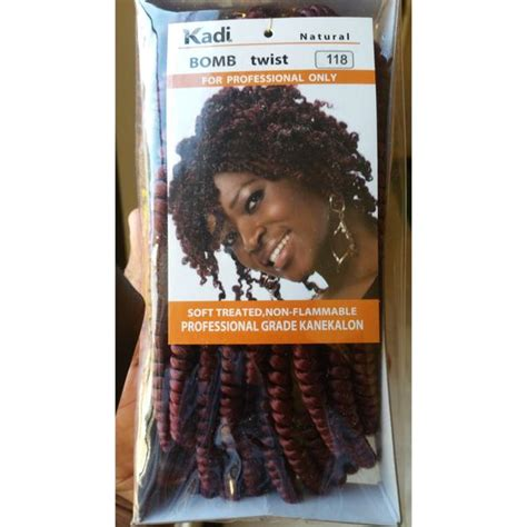 kadi twist hair kadi natural bomb twist hair hattach 233 beauty lifestyle