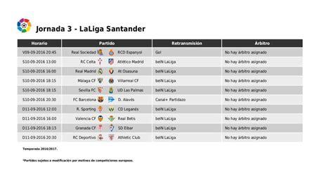 Calendario Y Horarios Liga Santander Horarios Liga Santander J3 Celta Atl 233 Tico Estrena El