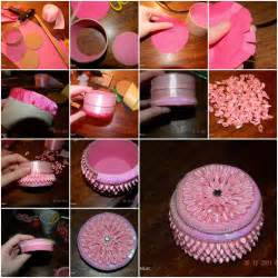 Handmade Craft Tutorials - how to make small jewelry box step by step diy