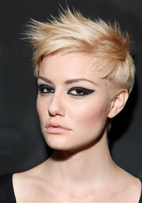 side swept pixie haircut short blonde pixie hairstyles 2013 2014 short