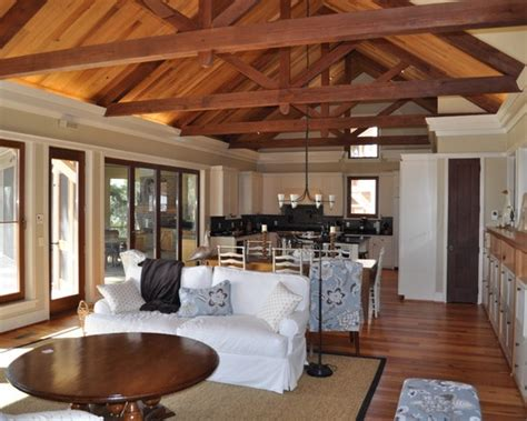 House Plans With Wood Beam Ceilings