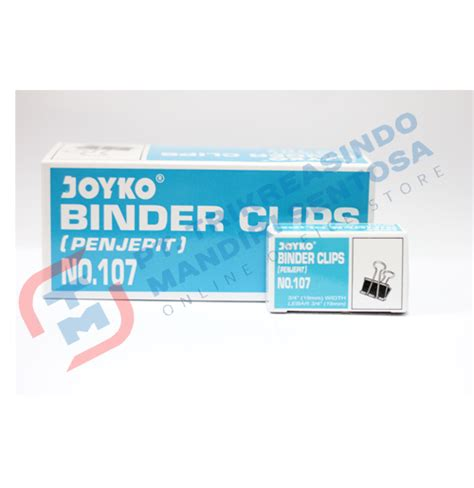 Binder Clip Kenko No 107 12 Pc Box binder