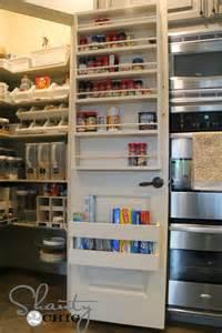 pantry door with spice rack decoist