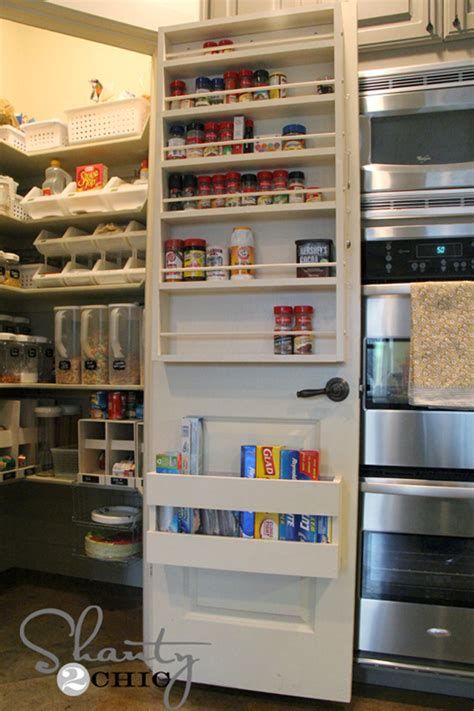 pantry door with spice rack decoist