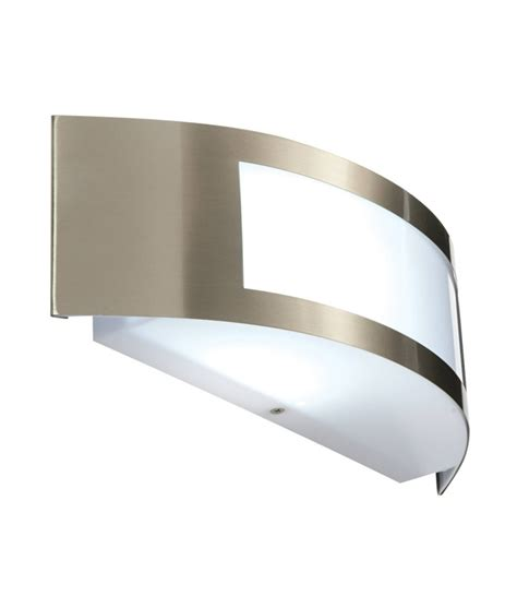 stainless steel outdoor lights brushed stainless steel exterior wall light