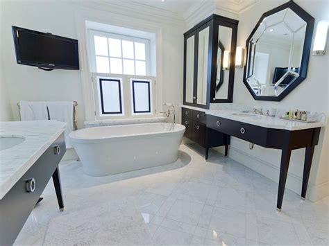 Guest Bathroom Decor Octagon Mirror Contemporary Bathroom Pricey Pads