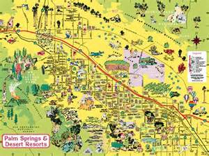 map palm springs california map of palm springs my