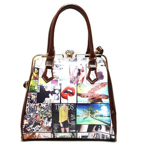 fashion magazine print handbag fashion handbags onsale