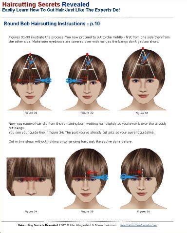 written instructions for how to cut a bob google image result for http www haircuttingsecrets com