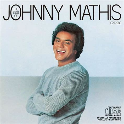 johnny mathis album covers the best of johnny mathis 1975 1980 by johnny mathis