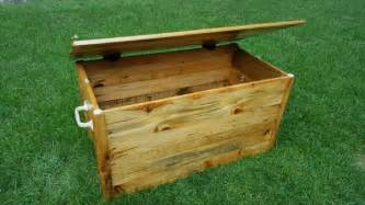 Bench Planter Plans Diy Pallet Wood Chest Toy Box Pallet Furniture Diy