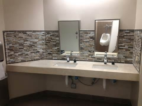 27 Bathroom Vanity Cabinets Commercial Restrooms Mgs Construction Inc