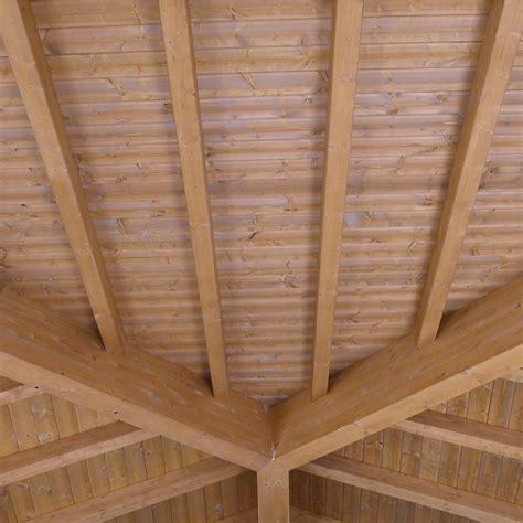 tetto padiglione tetto a padiglione in legno tavoli in legno grezzo