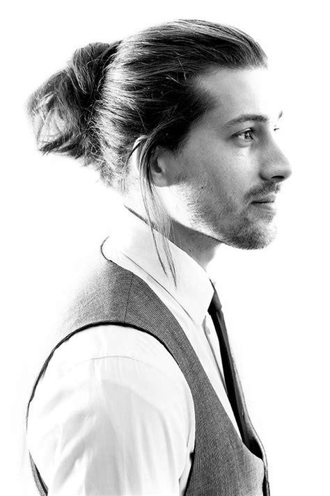 mun hairstyle for men 4 long hair style ideas for men bun cornrow pomp