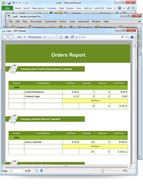 Sle Monthly Management Report Format