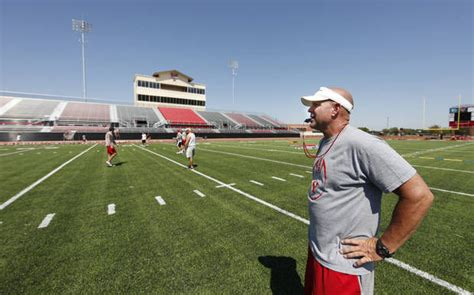 yukon coach todd wilson takes   elk city