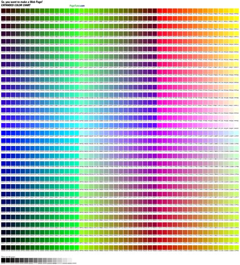 find color code from image web colors the html colors cheatsheet print