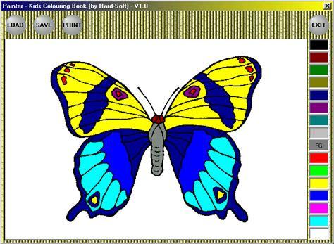 sarasoft coloring book free color creatures book software guru tegh