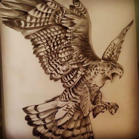 Tattoo Eagle Sketch | eagle sketch tattoo gugo sketch drawing pinterest