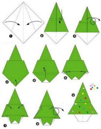 como hacer un arbol de navidad con papiroflexia