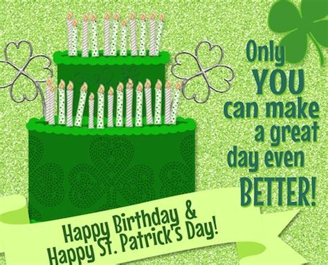 Shamrock Birthday Wishes. Free Birthday eCards, Greeting