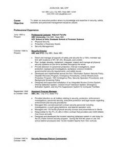 Blackhawk Security Officer Cover Letter by Search Results For Resume Exles Calendar 2015 Pin By Cara On Walk The Thin Blue