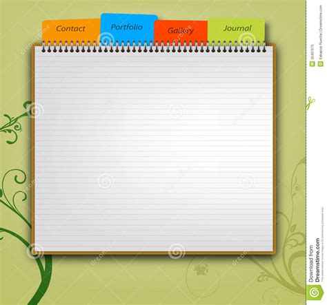 Web Design Template Royalty Free Stock Photo   Image: 35497675