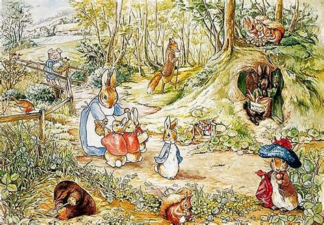 beatrix potter wall mural now and then beatrix potter