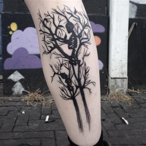 leg tree tattoo designs tree images designs