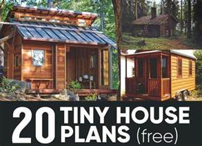 20 free diy tiny house plans you can build by yourself 20 free diy tiny house plans to help you live the tiny