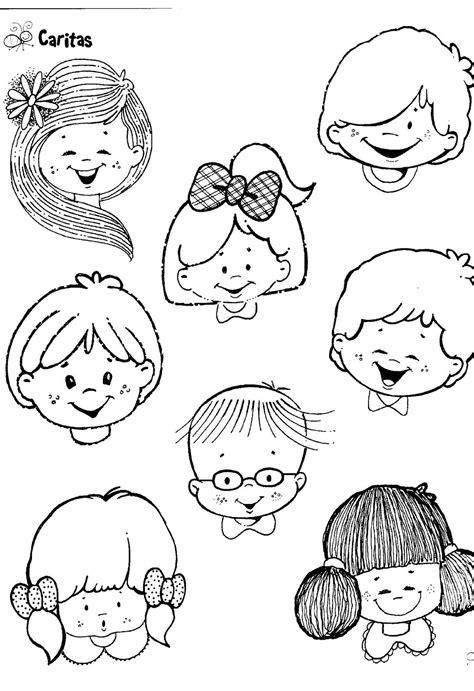 imagenes para orar fichas infantiles caritas para colorear e imprimir