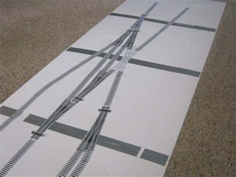 model railroad track templates great way to plan your railroad layout model railway