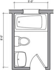 Small Full Bathroom Floor Plans by 5ft X 8ft Standard Small Bathroom Floor Plan With Shower