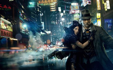 film fantasy noir what is cyberpunk neon dystopia