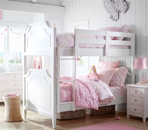 pottery barn kids bed ava regency twin over twin bunk bed pottery barn kids