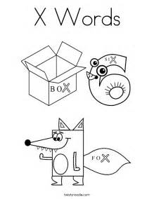 x coloring pages x words coloring page twisty noodle