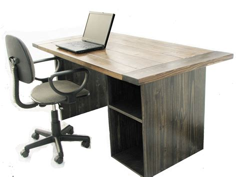 a desk made farmhouse style office desk by custom made