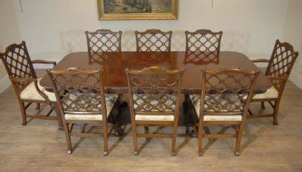 thomasville cherry esszimmer set thomasville mahogany chippendale dining table and chairs