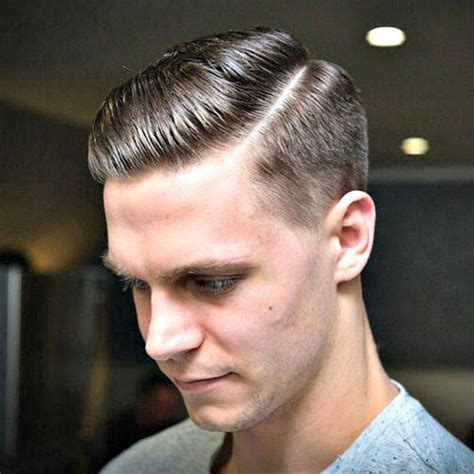 gentalmen hair cut styles the side part haircut a classic gentleman s hairstyle