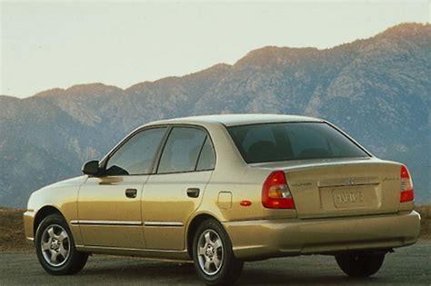 200 hyundai accent 2000 05 hyundai accent consumer guide auto