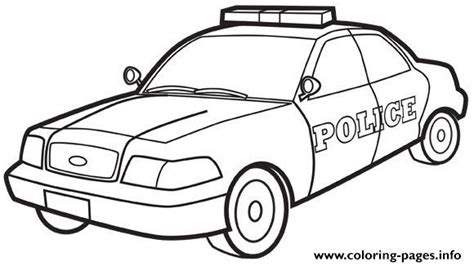 printable car images police car coloring pages printable