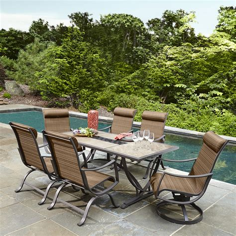 Outdoor Patio Table Sets Unique Ty Pennington Palmetto 7 Outdoor Patio Table Set
