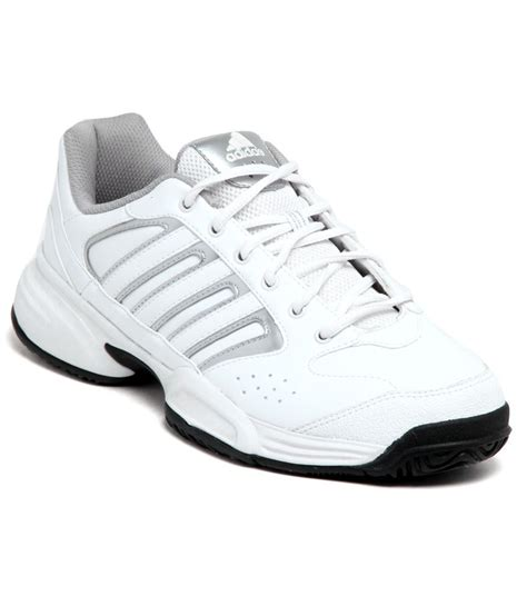 adidas sturdy white silver sports shoes price in india
