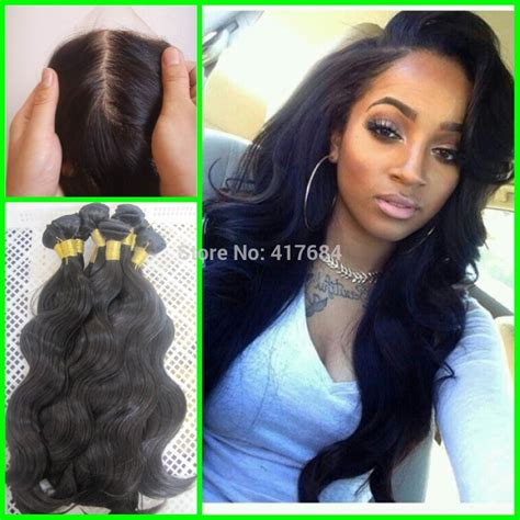silk hair extension wave human peruvian human hair 8a grade 3 bundles and 1 silk
