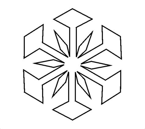 Free Snowflake Template Printable by 14 Free Snowflake Template Free Printable Word Pdf