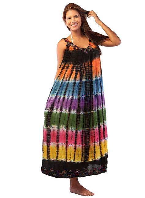 Outer Dress Batik 2 ingear tie dye umbrella dress batik dress