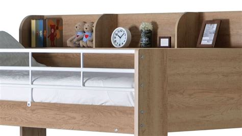 Domino High Sleeper by Happy Beds Domino Storage Wooden Bunk Bed Modern Sleep Station Mattress Ebay